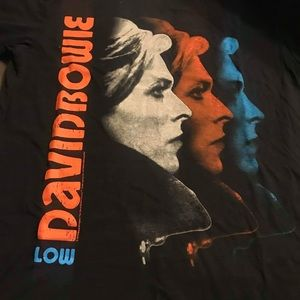 David Bowie Graphic Tee Size M